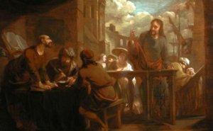Yesus-memanggil-Lewi-Pemungut-Cukai